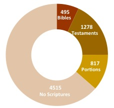 Languages with Complete Bible Translations